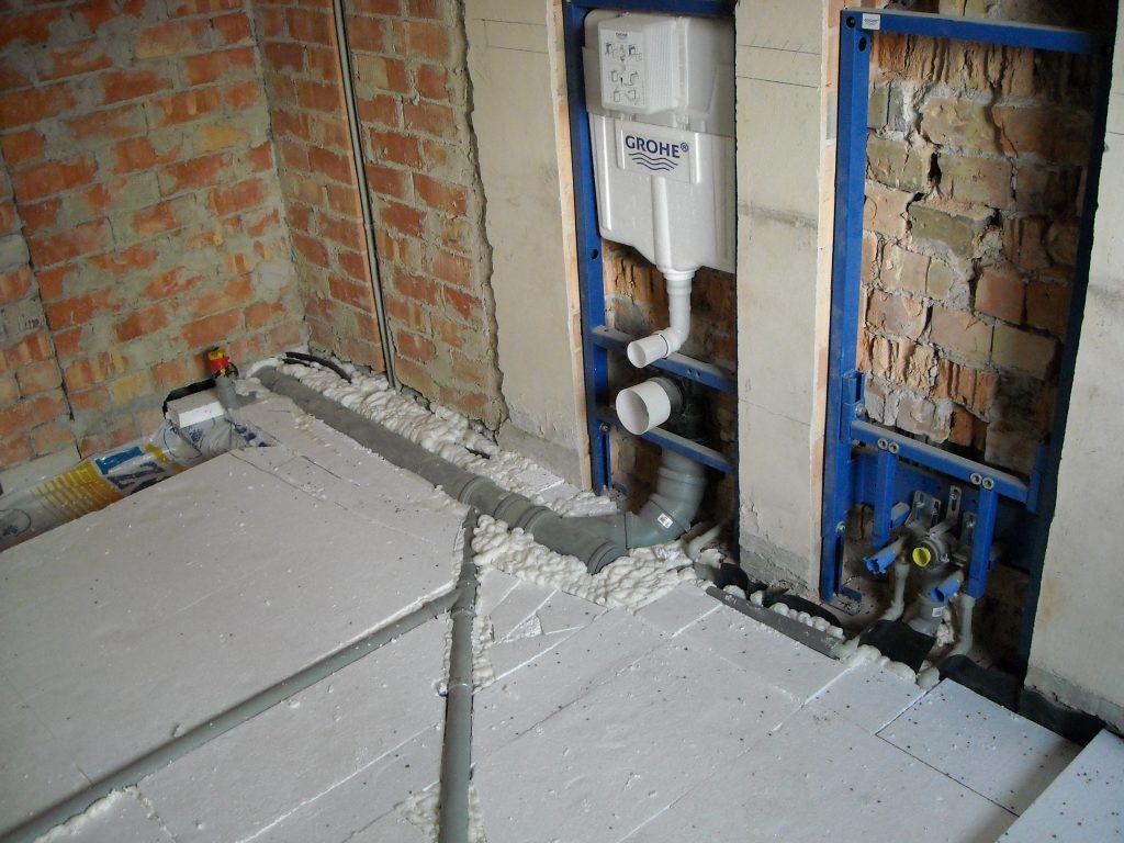 vandentiekio įrengimas